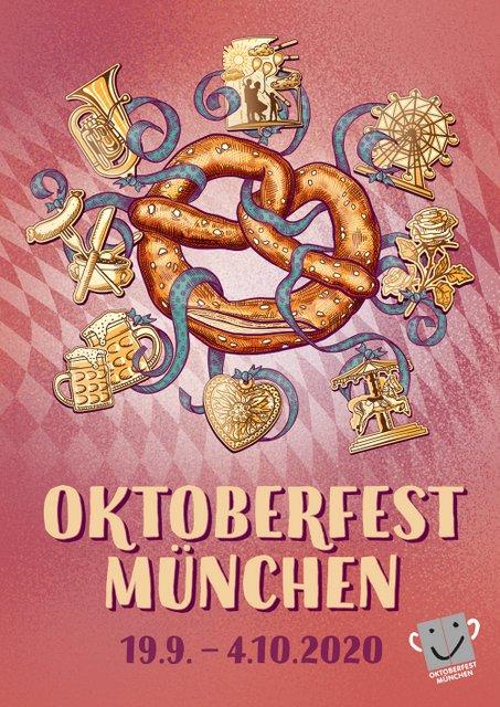 Oktoberfest Sieger-Plakatmotiv Platz 1