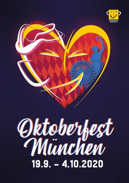 Oktoberfest Plakatmotiv Platz 3
